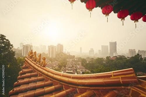 Foto op Canvas Asia land Skyline of Kuala Lumpur