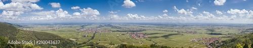 Fotografia  Panorama über Rheinland Pfalz