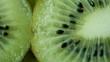 Kiwi slices background macro footage