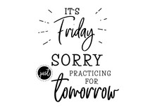 Thursday Funny Lettering Quote