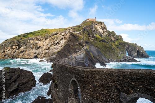 Fotografie, Obraz Spanien - Baskenland - San Juan de Gaztelugatxe