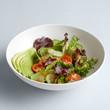 Fresh vegetable salad in bowl