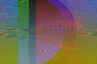 Glitch texture pixels neon color