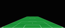 Soccer Field. Goalkeepers Exte...