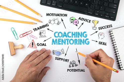 Fotografía Coaching and Mentoring concept