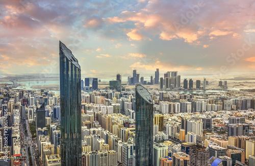 Abou Dabi View of Abu Dhabi city, United Arab Emirates
