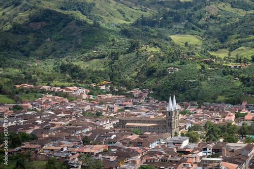 Village De Jardin Colombie Buy This Stock Photo And Explore
