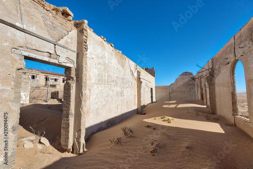 Photo Stands Ass Kolmanskop Deserted Diamond Mine in Southern Namibia taken in January 2018