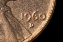 US Coin - Penny - One Cent Double D Error