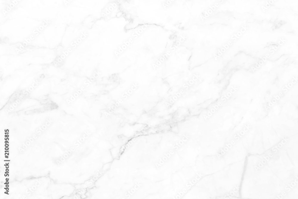 Fototapeta White marble pattern texture for background. for work or design.