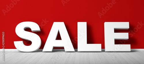 Angebot / Sale / Rabatte Canvas Print