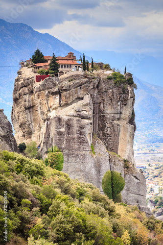 Papiers peints Con. ancienne Monastery of the Holy Trinity i in Meteora, Greece