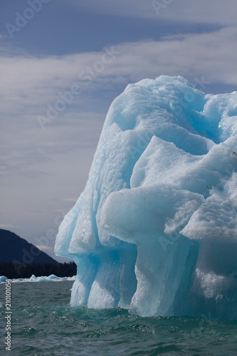 Poster Antarctique Beautiful iceberg nature's works of art