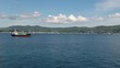 Tanker Ship On The Aerial Shot
