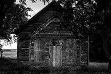 Abandoned One Room School House