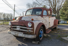 Old Dodge Towing Truck
