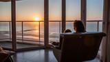 Fototapeta See - Couché de soleil