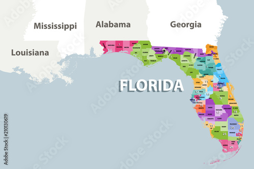 Florida\'s congressional districts for the 115th Congress (2017-2019 ...