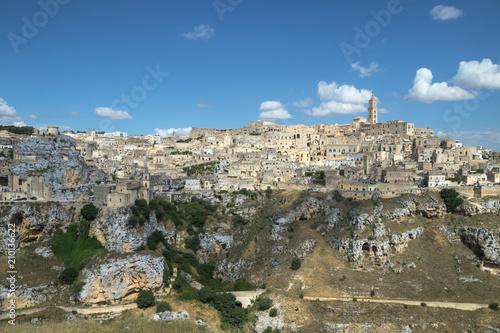 Photographie  Panorama di Matera e dei suoi Sassi - Capitale europea della cultura 2019