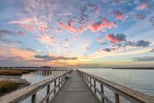 Sunrise At The Sands Beach I Port Royal, South Carolina