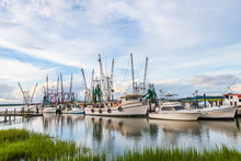Shrimp Boats In Port Royal, So...