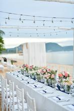 Beach Wedding Ceremony On The ...