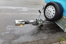 Trailer Hitch On A Trailer For...