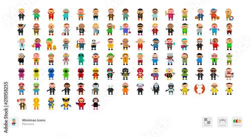 Photo Miniman icons