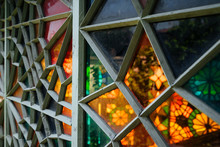 Stained-glass Window Panel