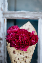 Bright Bouquet Of Red Flowers