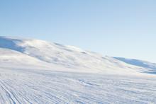 Arctic Minimalist Landscape Sn...