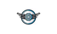 Gun Store Logo Symbol Icon