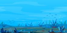 Underwater Landscape Game Back...