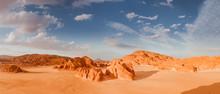 Panorama Sand Desert Sinai, Eg...