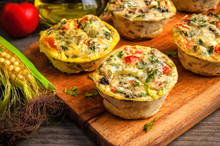 Delicious Vegetable Egg Muffins