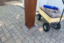 Installing A New Gazebo On An Exterior Patio