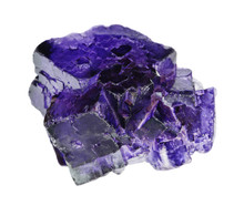 Dark Blue Flourite Crystals