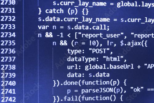 Javascript code in bracket software  JavaScript code in text editor