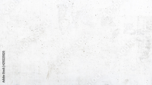 Fotografie, Obraz  Texture of old white concrete wall for background