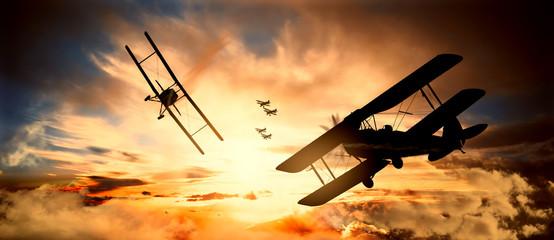 bitwa powietrzna pierwsza wojna światowa