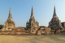 Wat Phra Si Sanphet Temple In ...