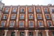 fachadas de edificios en la plaza mayor de Burgos