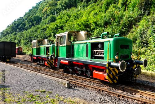 Diesellok, Vulkan-Express, Brohltalbahn, Eifel, Rheinland Pflaz