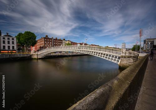 Fotografie, Obraz Halfpenny Bridge