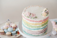 Homemade Pastel Colorful Layer...
