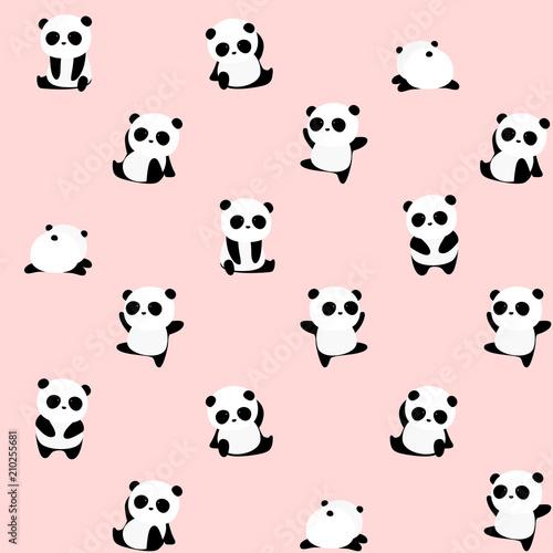 bezszwowy-wektoru-wzor-panda-niedzwiadkowy-wzor-na-swietle-rozowy-tlo