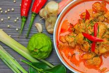 Red Curry Chicken, Thai Spicy ...