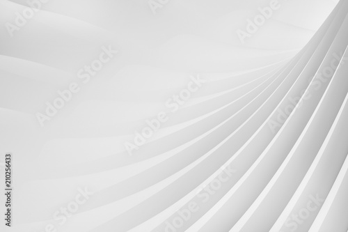 Fototapeta  Abstract background from a serpentine flowing waves