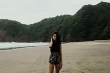 Female Beach Shoot