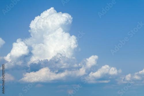cumulonimbus in blue sky